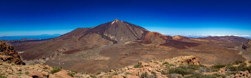 Маршрут на гору Guajara с видом на Тейде 1