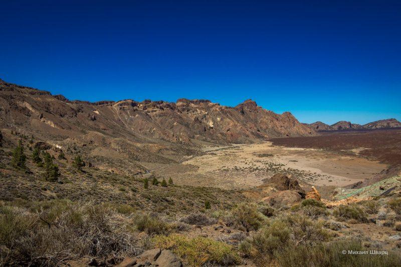 Маршрут на гору Guajara с видом на Тейде 6