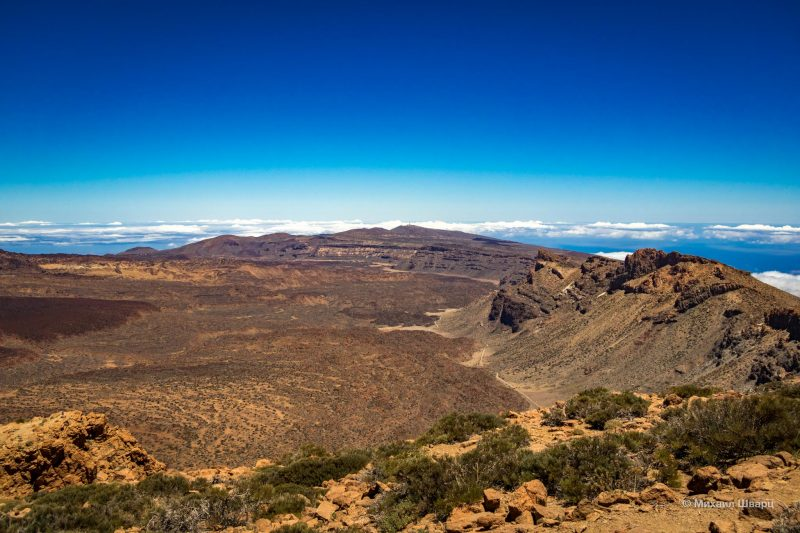 Маршрут на гору Guajara с видом на Тейде 10