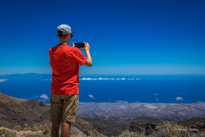 Маршрут на гору Guajara с видом на Тейде 11