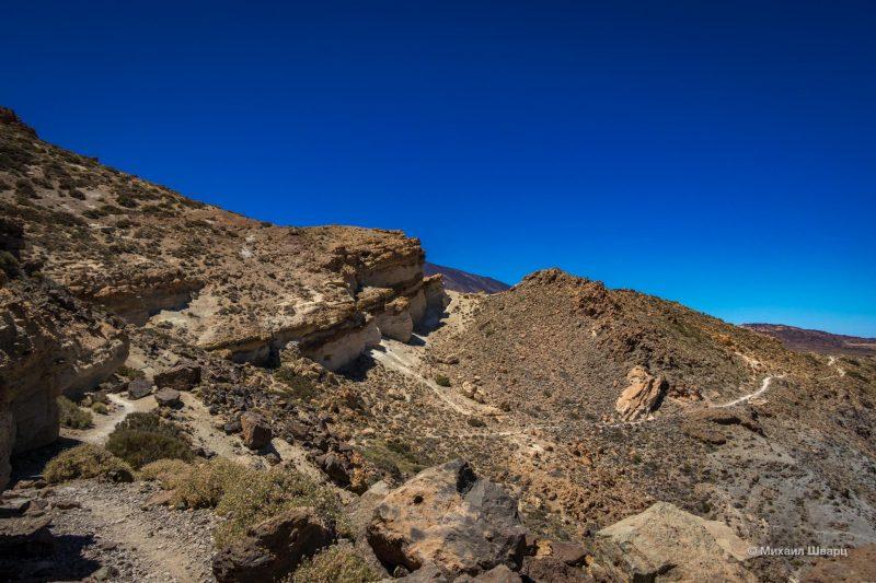 Маршрут на гору Guajara с видом на Тейде 12