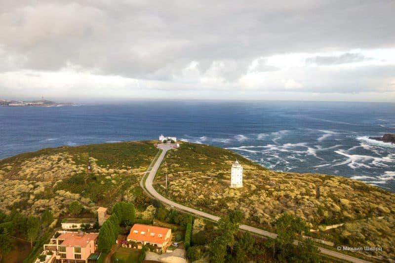 Полетал вокруг маяка Faros de Mera