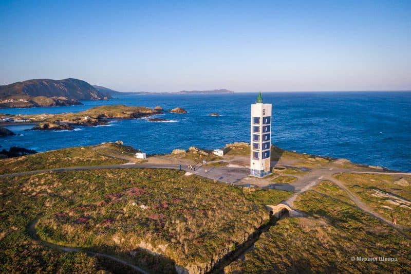 Маяк Faro de Punta Frouxeira