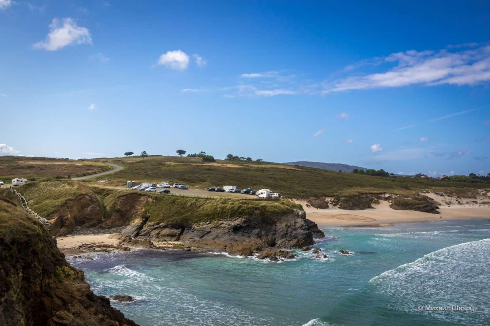 Aparcadoiro Praia e Ermida de Santa Comba