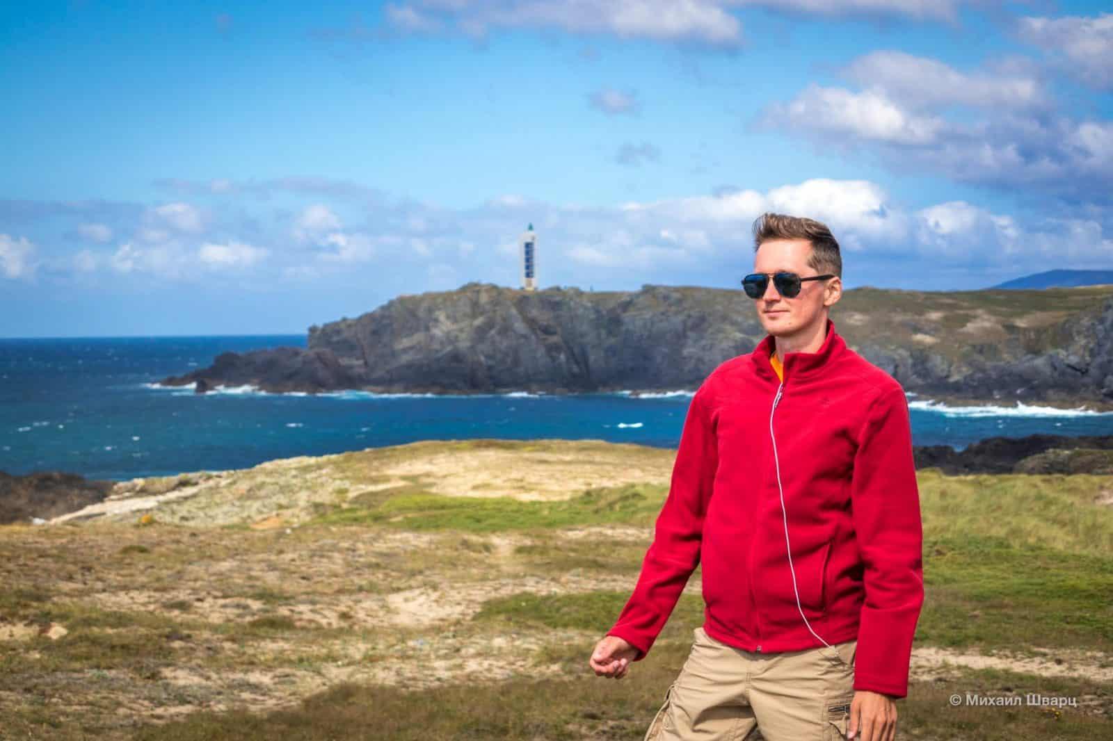 У маяка Faro de Punta Frouxeira мы заночуем