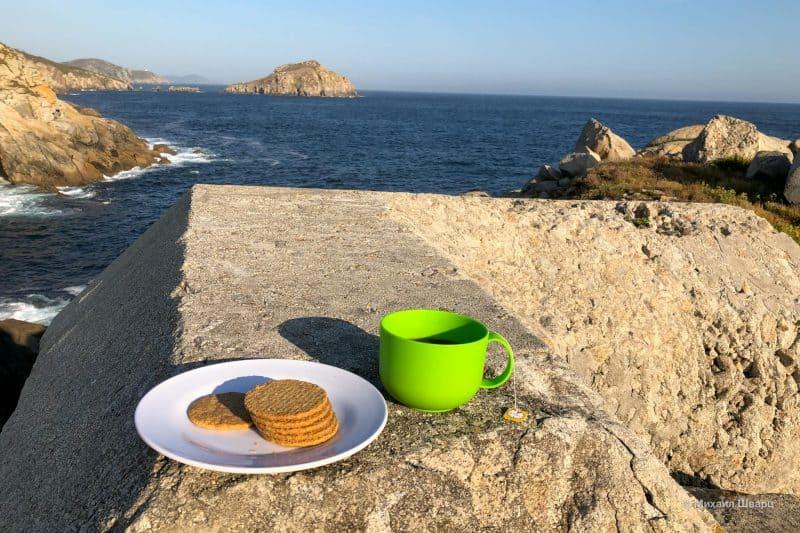 Завтрак с видом на океан