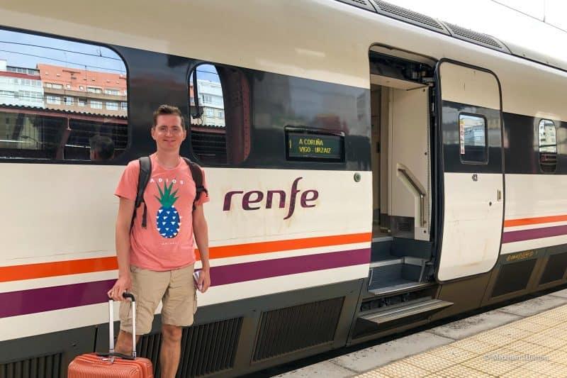 Поезд в Ла Корунью