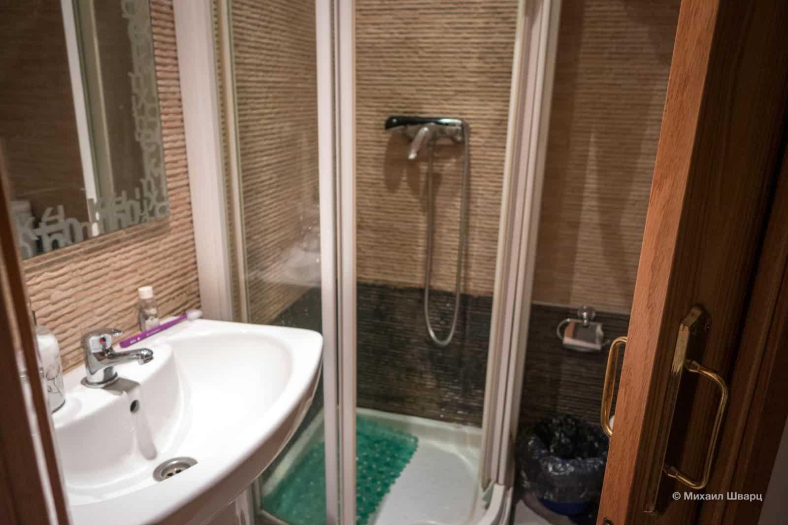 Общая ванна на 2 комнаты