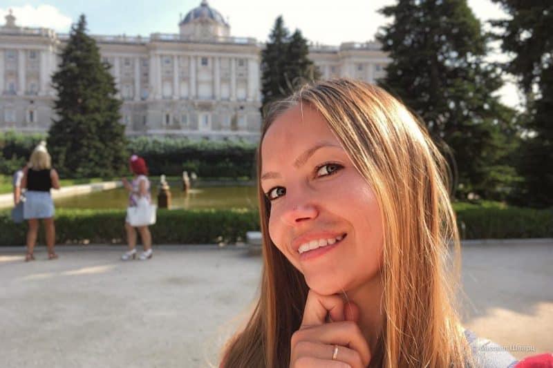 Лена в Мадриде