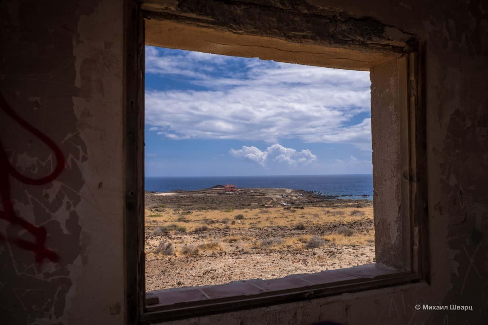 Вид из окна недостроенного лечебно учреждения