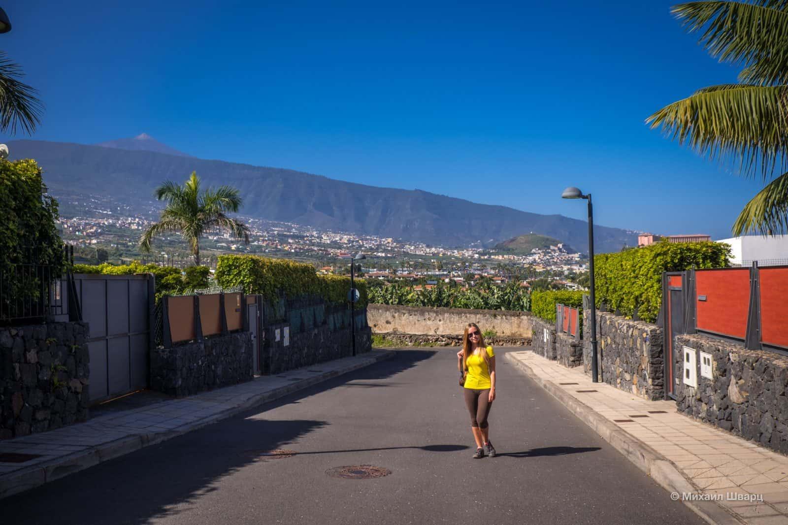 Пуэрто-де-ла-Круз, начинаем наш маршрут вдоль океана