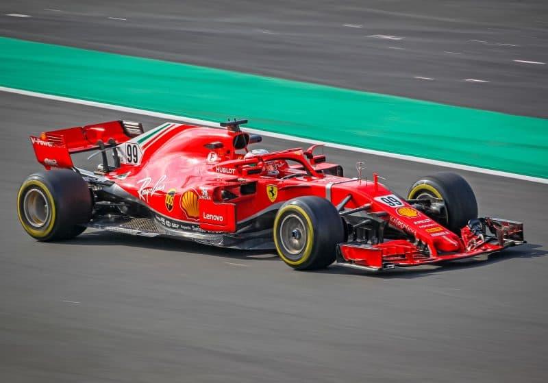 На трассе Formula 1