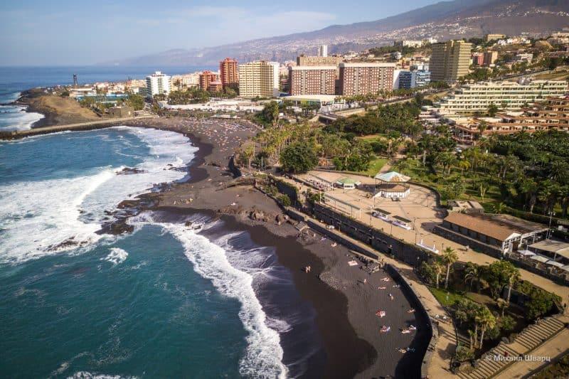 Playa Chica на Playa Jardín