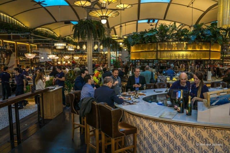 В ресторане Барселоны