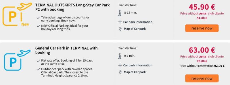 Как сэкономить на парковке в аэропорту на Тенерифе 4