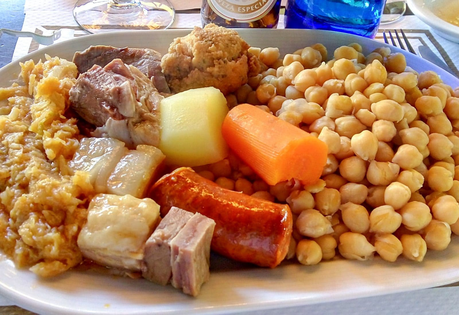 Косидо мадриленьо (Cocido madrileño)
