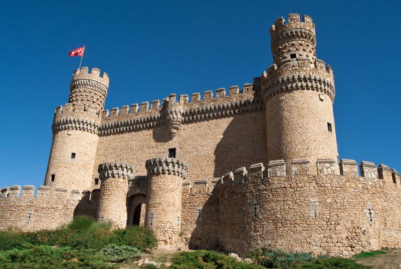 Замок Мансанарес‑эль‑Реаль (Castillo de Manzanares el Real)