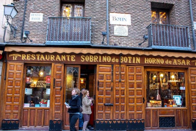Ресторан Sobrino de Botín