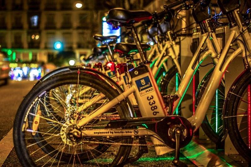 Аренда велосипеда в Мадриде