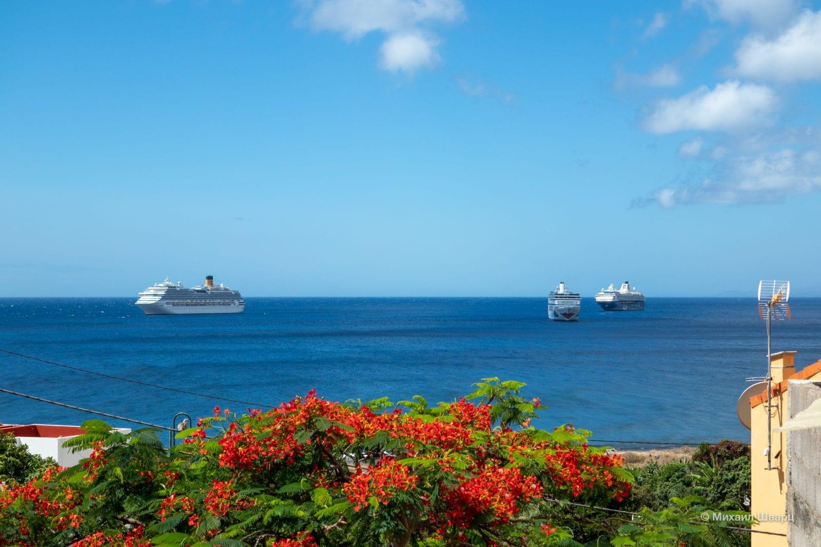 4 круизных лайнера
