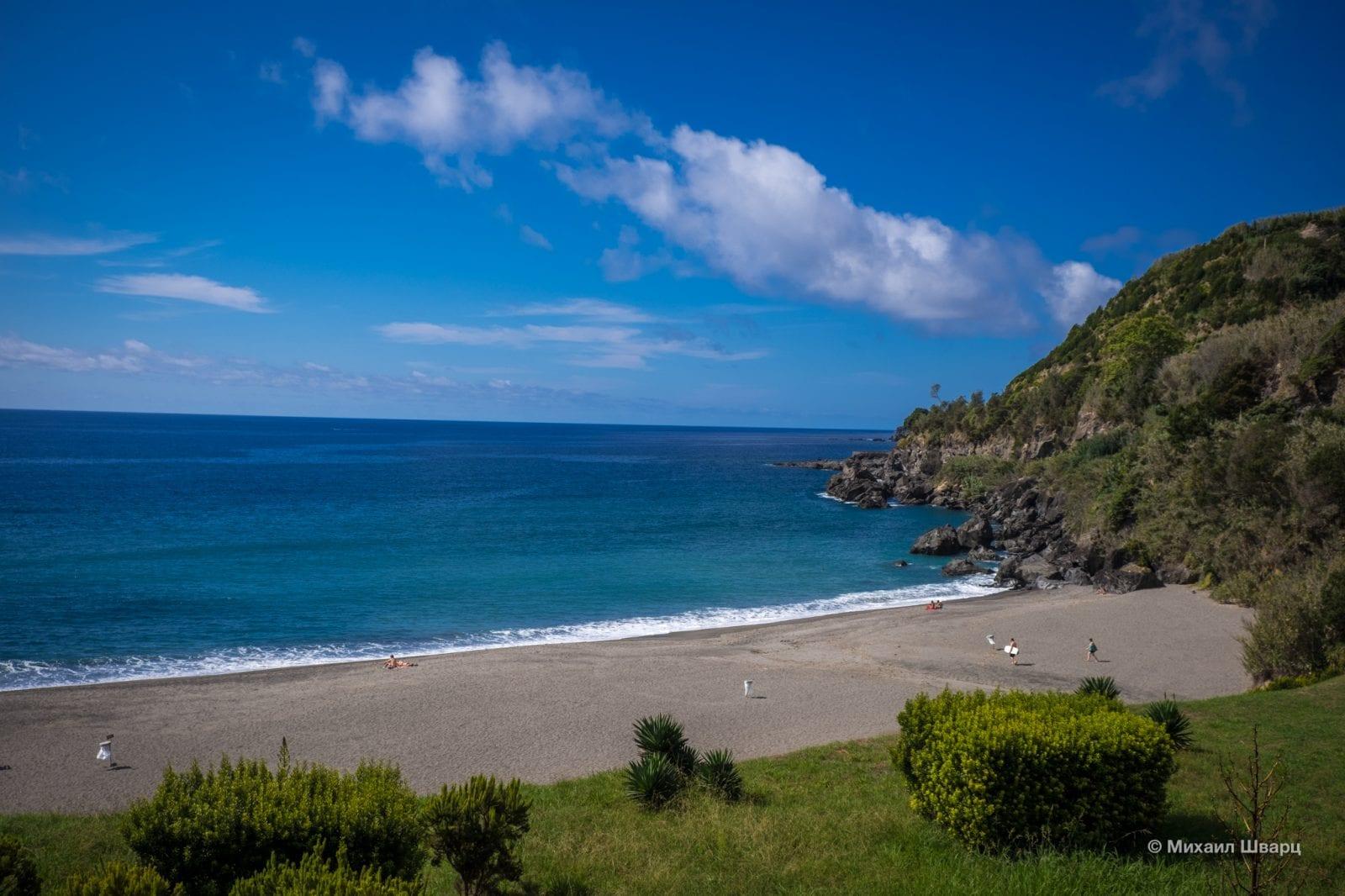 Пляж Praia de Água d'Alto