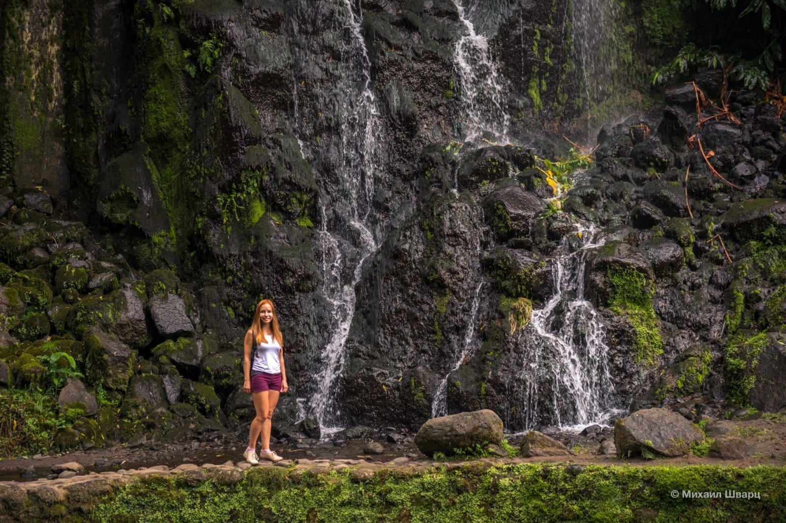 Водопад Фата невесты и Лена