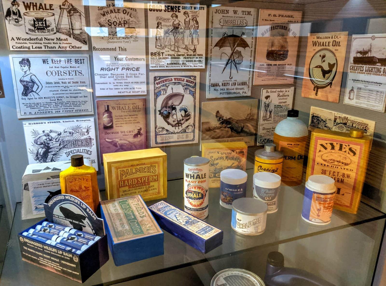 Продукты, полученные из китов