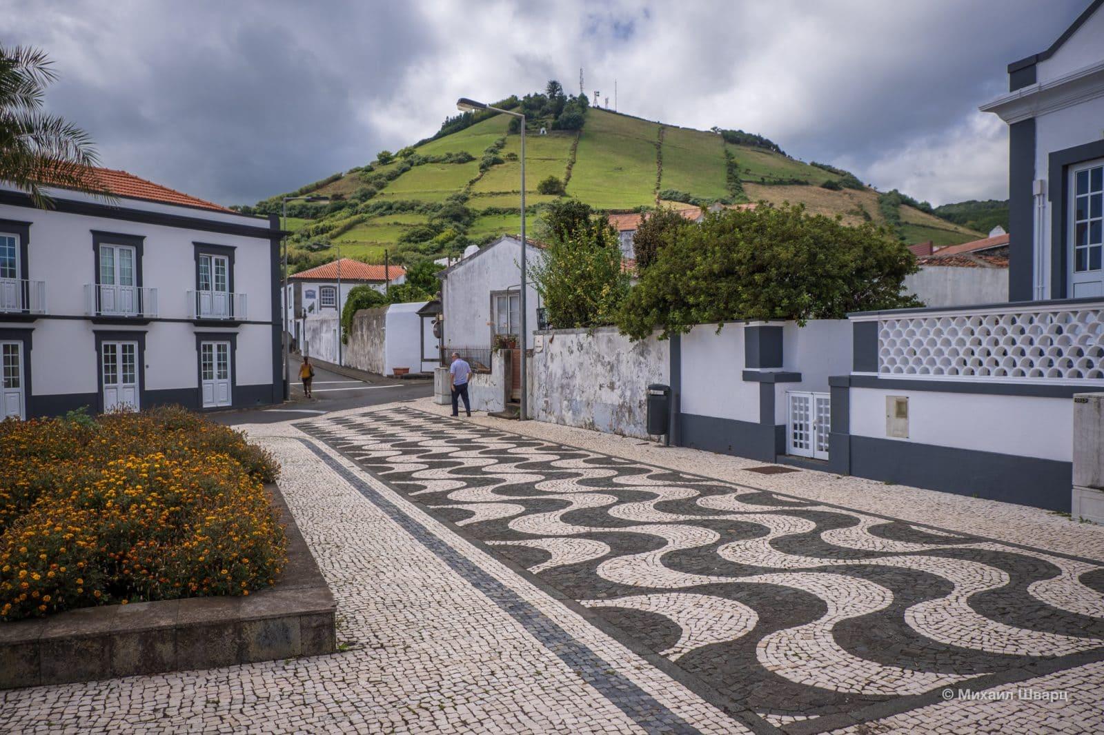 Португальский тротуар