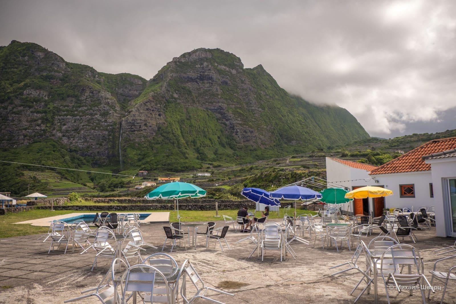 Панорама с террасы ресторана