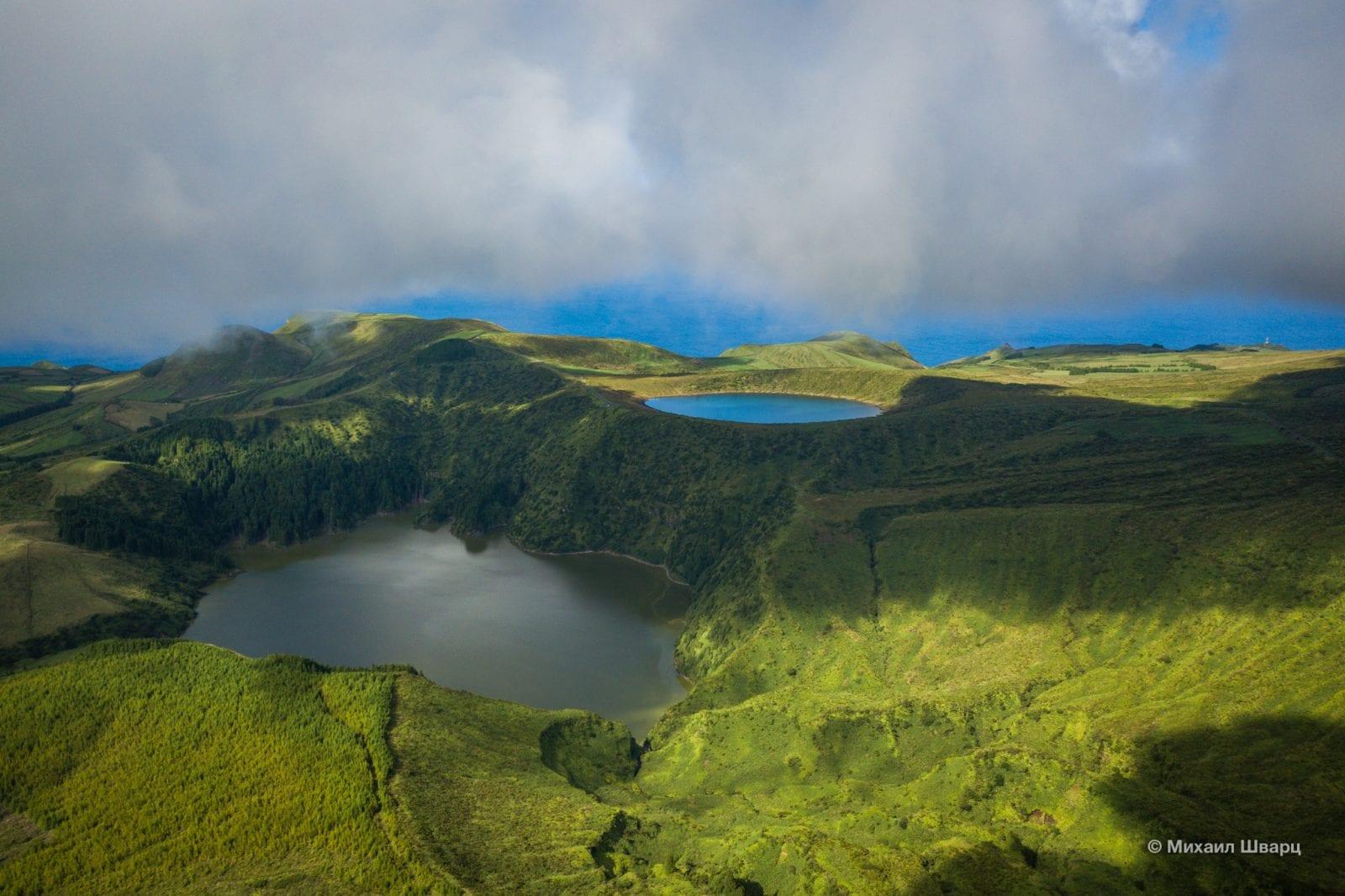 Озера Lagoa Rasa и Lagoa Funda
