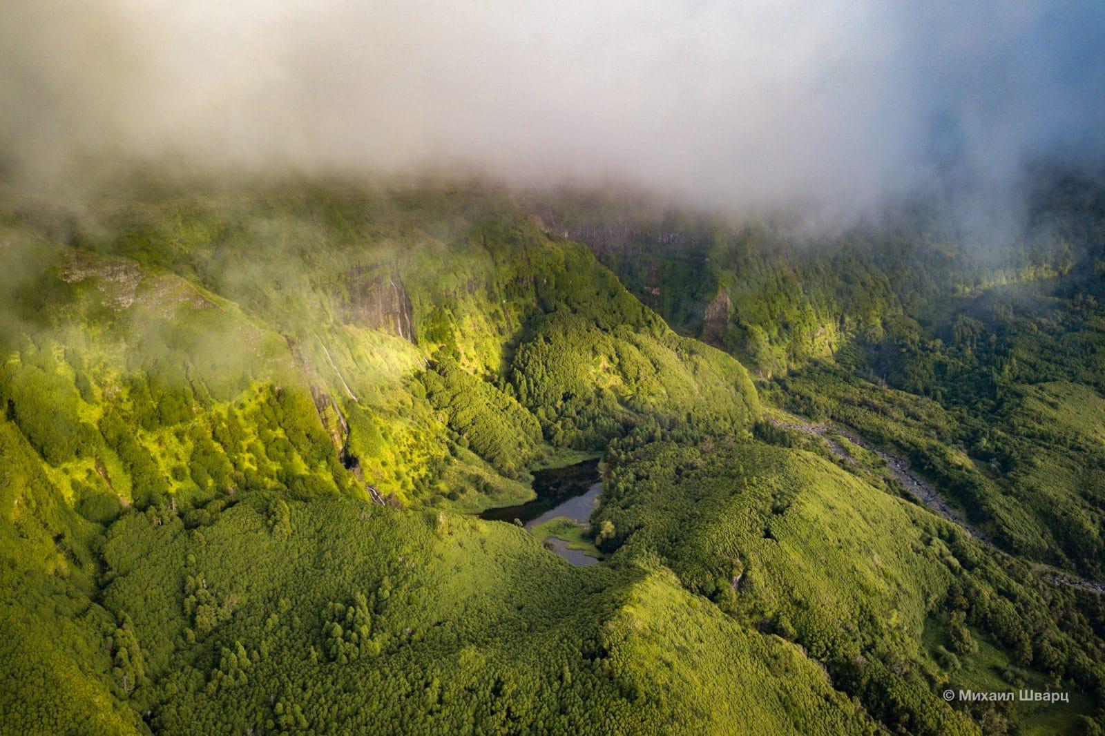 Панорама Poço Ribeira do Ferreiro