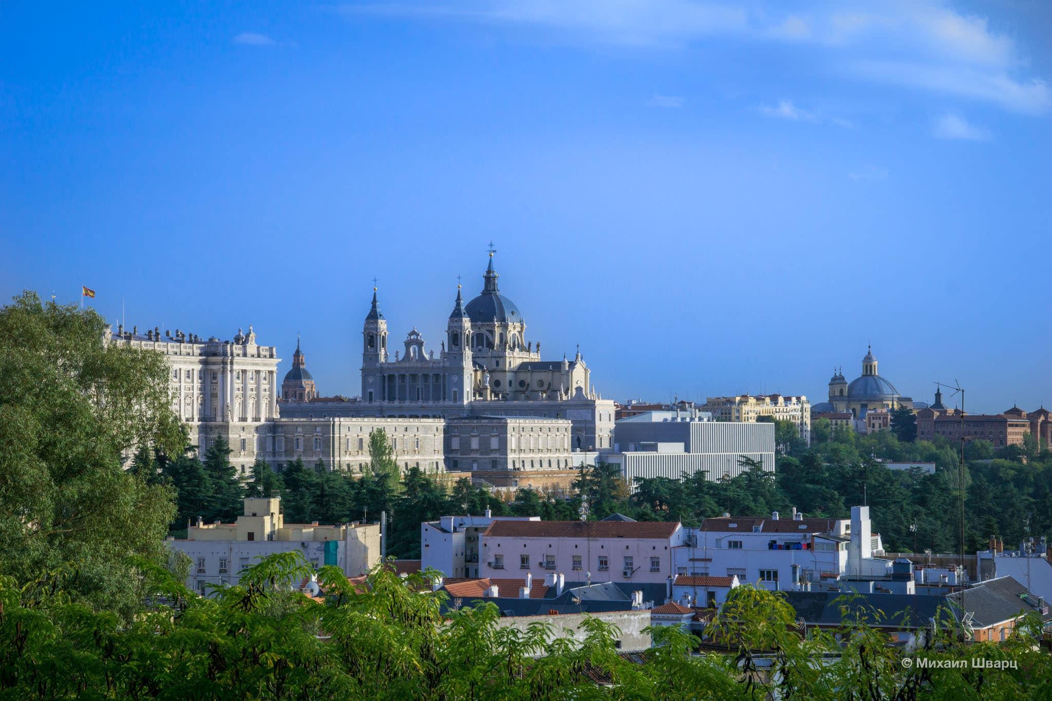 Лучшие смотровые площадки Мадрида