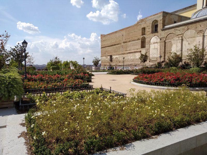 Смотровая площадка в Садах Святого Франциска Великого (Jardines de San Francisco el Grande)
