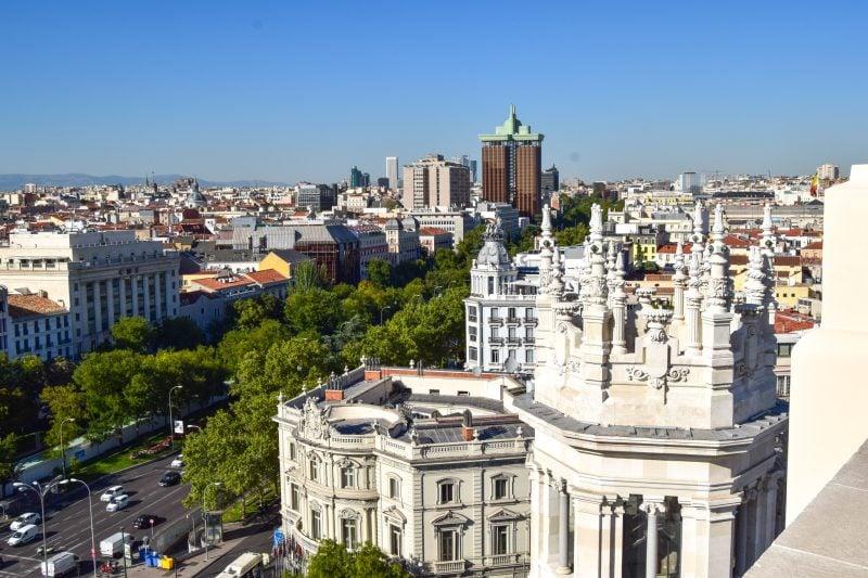 Смотровая площадка дворца Сибелес (Palacio de Cibeles)