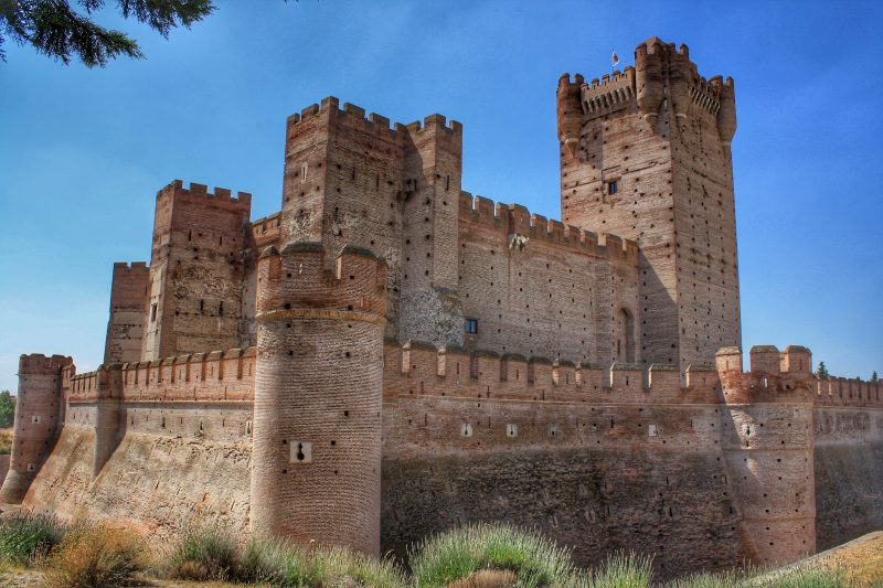 Замок Ла Мота (Castillo de La Mota)