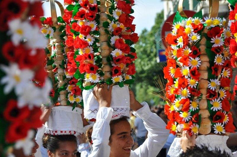 Праздника хлебных корзин (Festa dos tabuleiros)