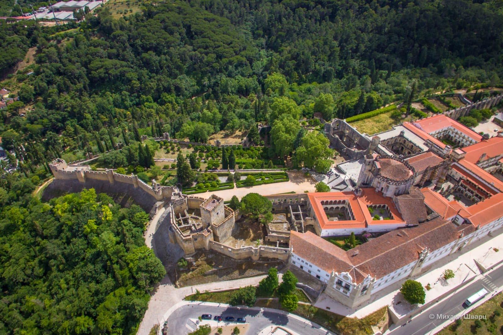 Вид на крепость сверху
