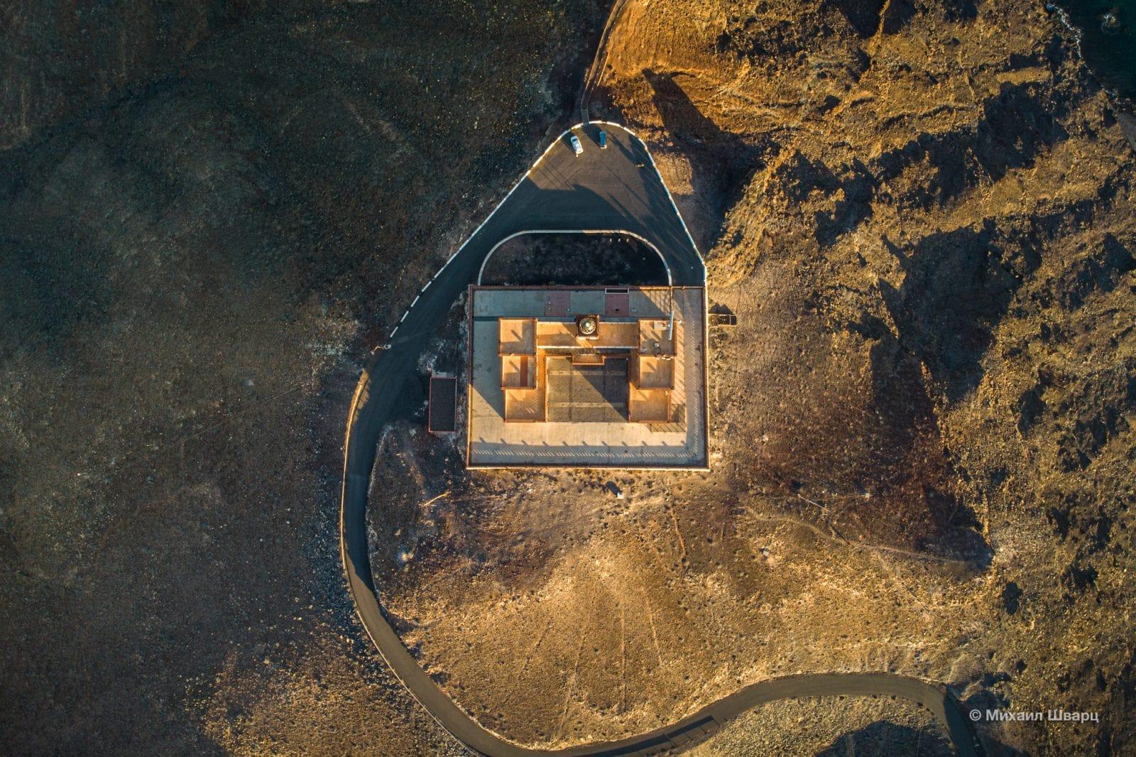 Faro de la Entallada с высоты