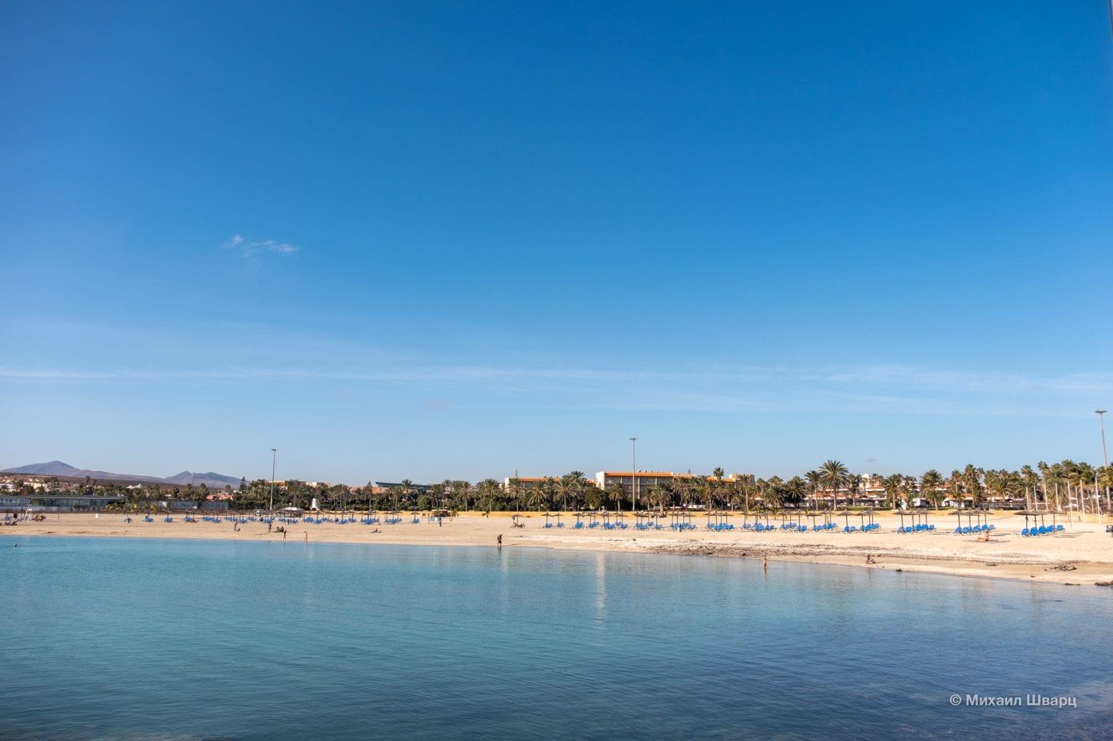Пляж Playa del Castillo