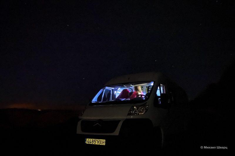 Звездное небо ночью