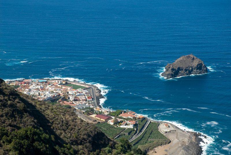 Вид со смотровой Эль-Гинчо (Mirador El Guincho)