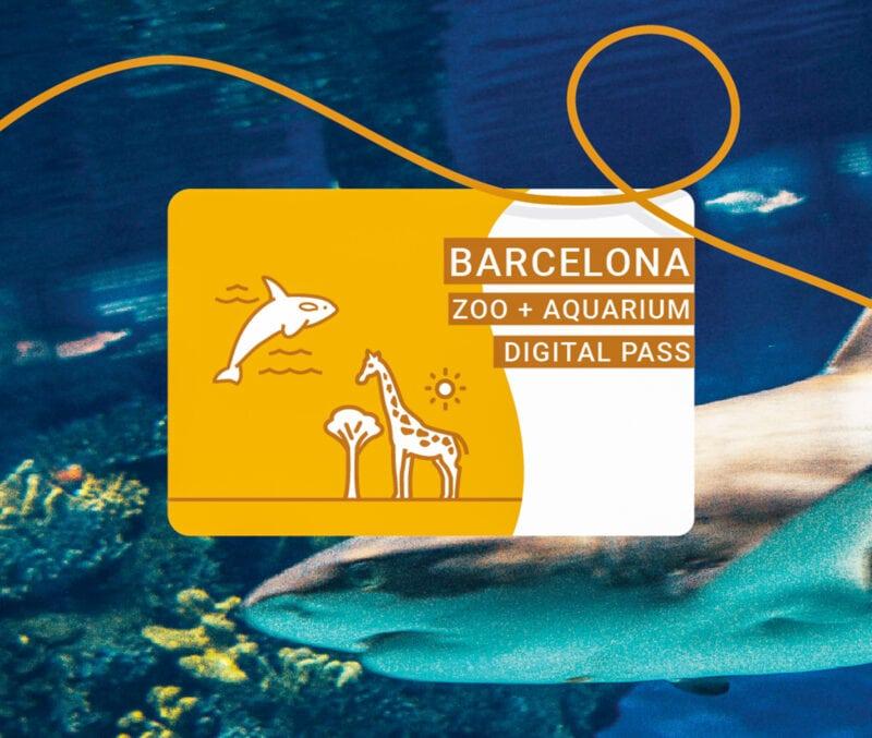 Barcelona Zoo + Aquarium Pass