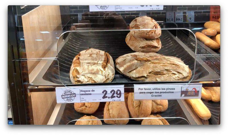 Хороший ржаной хлеб в Lidl