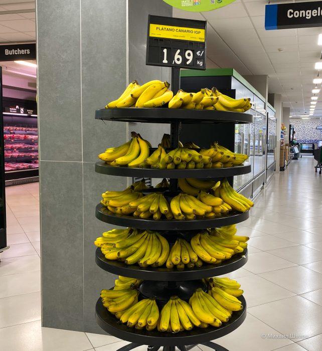 Канарские бананы