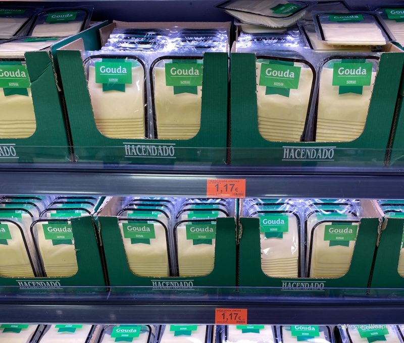 Стандартный сыр гауда