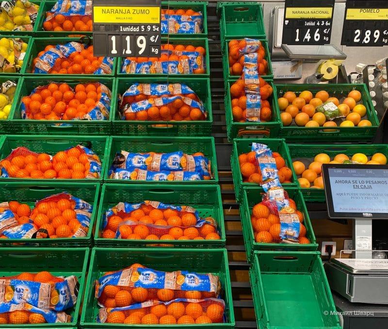 Апельсины для сока сочнее и дешевле
