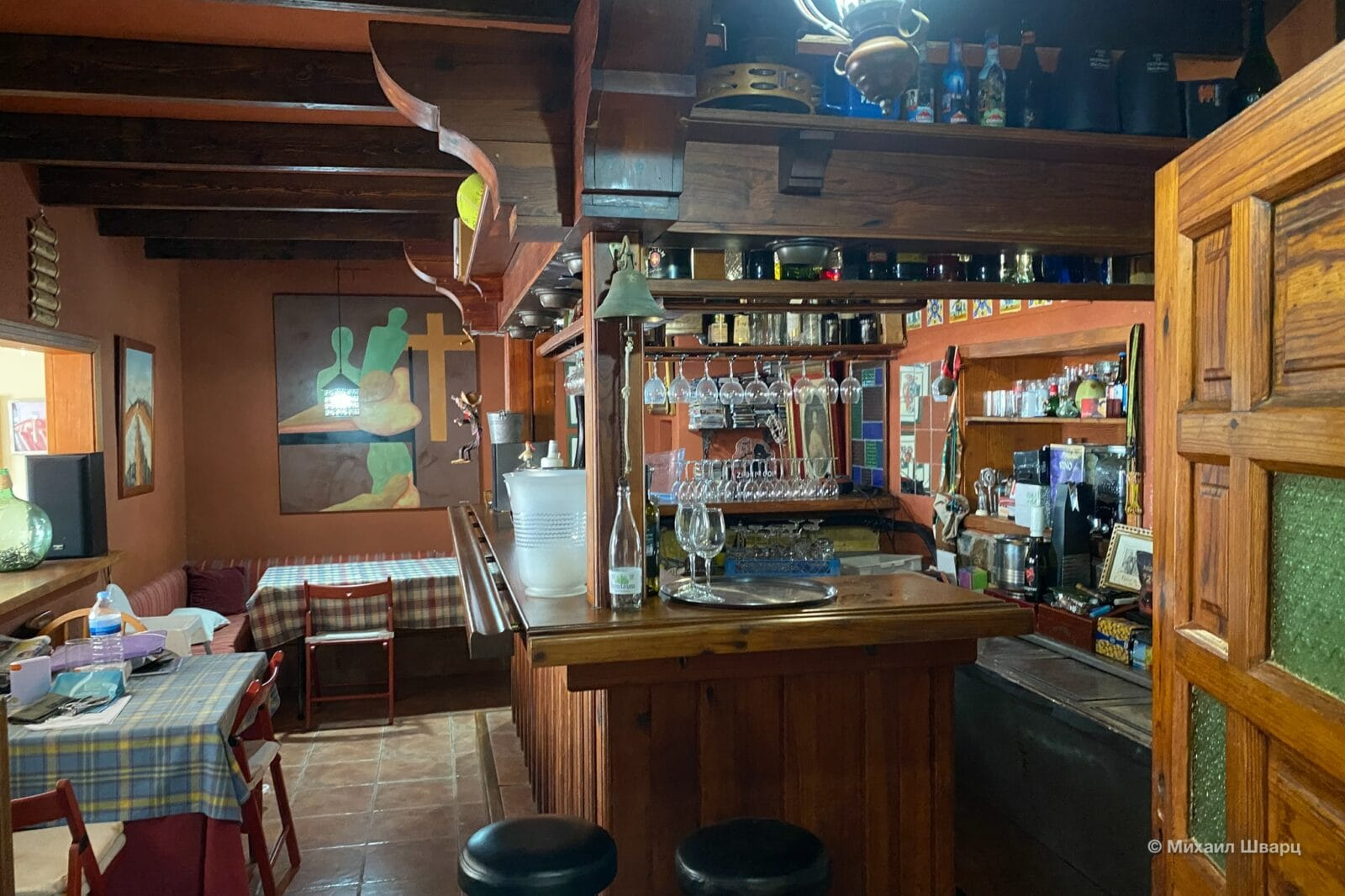Интерьер ресторана Bar Terraza El Capricho