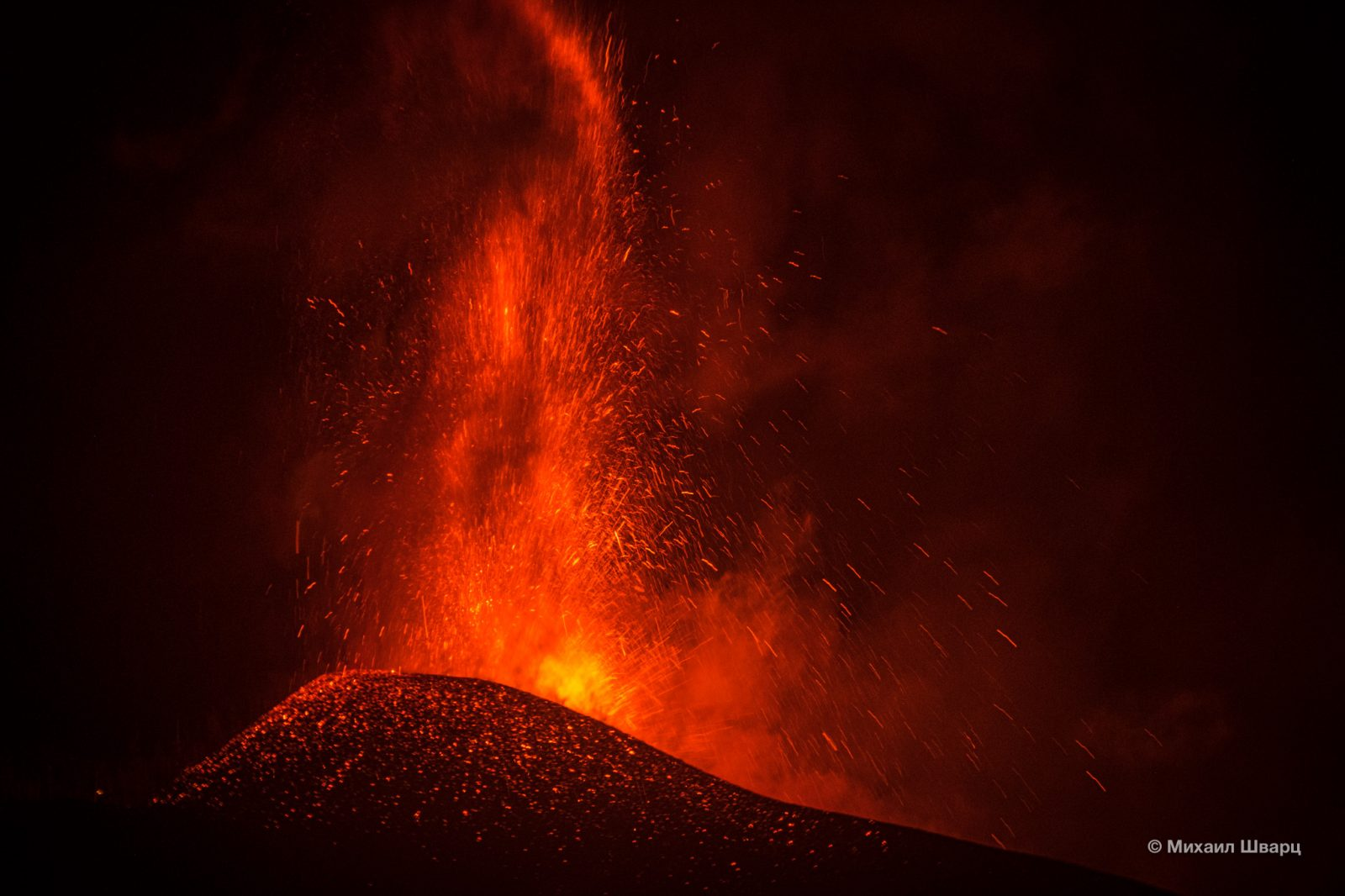 Смотровая на вулкан в El Paso Ла-Пальма